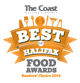 The Coast - Best of Halifax Food Award